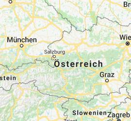 Austria Map Ski Rentals